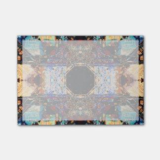抽象的なフラクタルの曼荼羅 ポストイット