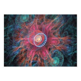 抽象的なフラクタルの芸術 カード