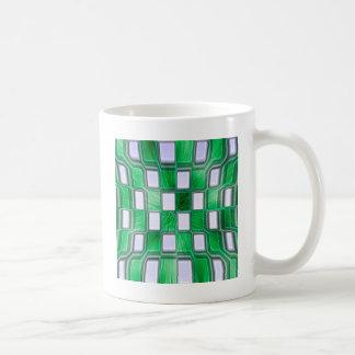 抽象的なブロックRockin コーヒーマグカップ