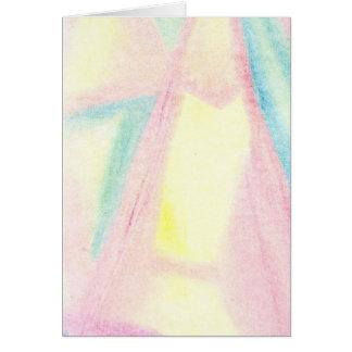 抽象的なプリント3 カード
