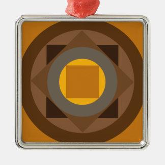 抽象的なベルギーのデザイン メタルオーナメント