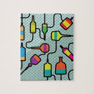 抽象的なボトル ジグソーパズル