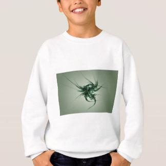抽象的なマトリックスの緑の事 スウェットシャツ