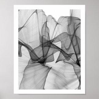 抽象的なモノクロポスター| 8x10 ポスター