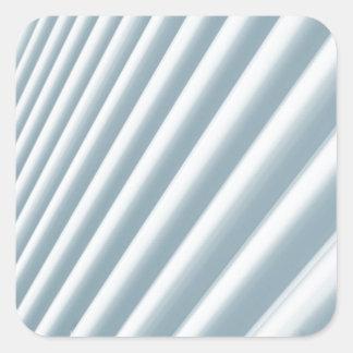 抽象的なラインデザイン スクエアシール