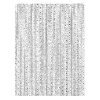 抽象的なラインパターン テーブルクロス
