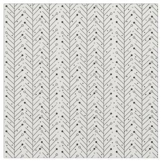 抽象的なラインパターン ファブリック