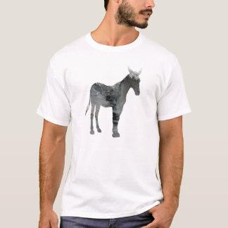 抽象的なラバのシルエット Tシャツ