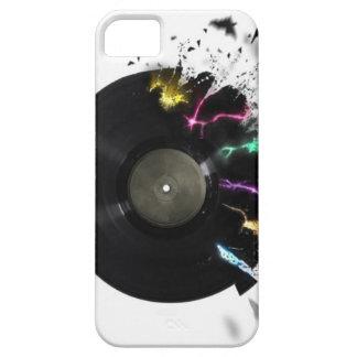 抽象的なレコード iPhone SE/5/5s ケース