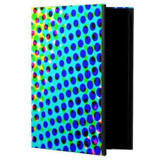 抽象的なレトロのポップアートの水玉模様パターン POWIS iPad AIR 2 ケース