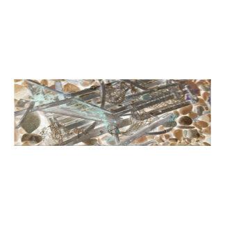 抽象的なロブスターのトラップのギャラリーの包まれたなキャンバス キャンバスプリント