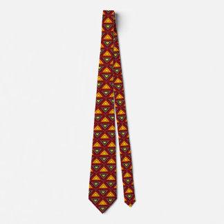 抽象的な三角形 ネクタイ