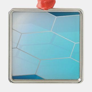 抽象的な六角形Background_3 メタルオーナメント
