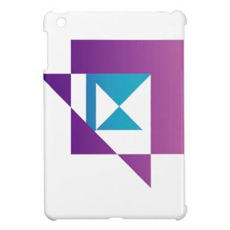 抽象的な凧の定形グラフィック iPad MINIケース