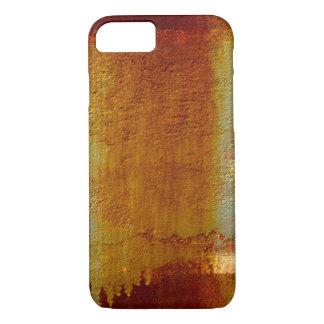 抽象的な壁の質の錆ついたiPhone 7の懸命の場合 iPhone 8/7ケース