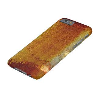 抽象的な壁の質錆ついたIPHONE 6Sの懸命の場合 BARELY THERE iPhone 6 ケース