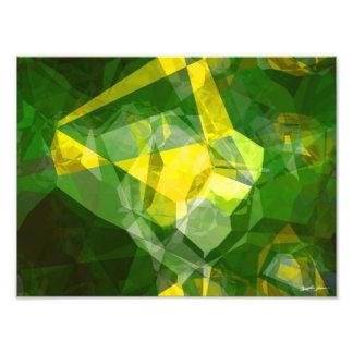 抽象的な多角形132 フォトプリント