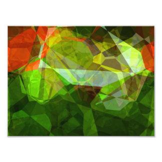抽象的な多角形158 フォトプリント