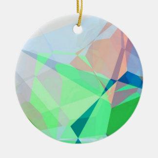 抽象的な多角形167 セラミックオーナメント