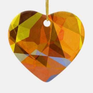 抽象的な多角形178 セラミックオーナメント