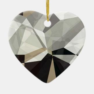 抽象的な多角形212 セラミックオーナメント