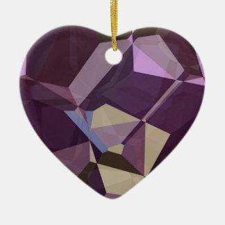 抽象的な多角形247 セラミックオーナメント