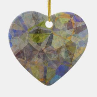 抽象的な多角形33 セラミックオーナメント