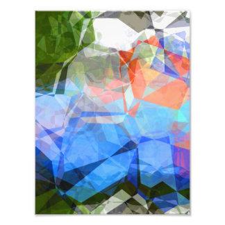 抽象的な多角形40 フォトプリント