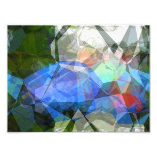 抽象的な多角形41 フォトプリント