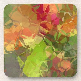 抽象的な多角形96 コースター