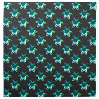 抽象的な夜星の布のナプキン ナプキンクロス