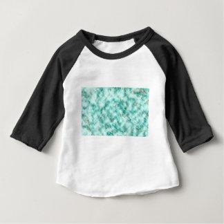 抽象的な大理石の青 ベビーTシャツ