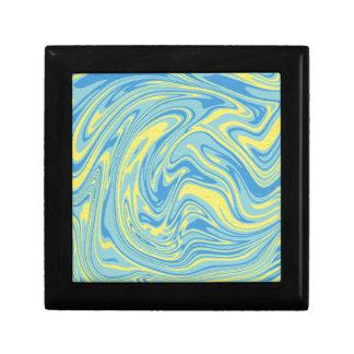 抽象的な大理石パターン ギフトボックス
