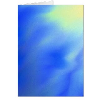 抽象的な太陽および空の空白のな挨拶状 カード