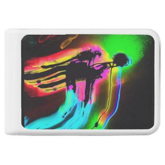 抽象的な太陽神のRAのTenFour 10400mAh力銀行 モバイルバッテリー