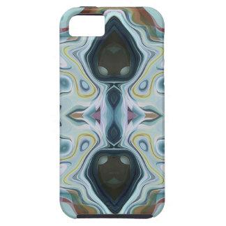抽象的な対称の形 iPhone SE/5/5s ケース