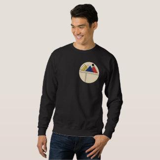 抽象的な山の設計 スウェットシャツ