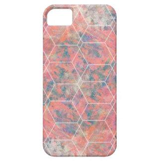 抽象的な幾何学的 iPhone SE/5/5s ケース