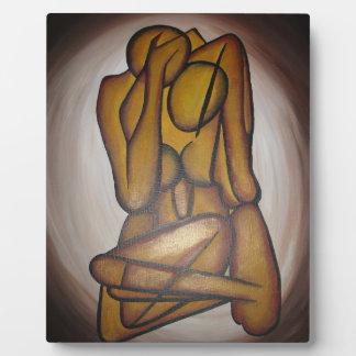 抽象的な恋人 フォトプラーク