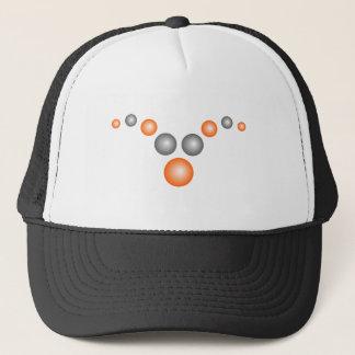 抽象的な悪魔の角の野球帽 キャップ