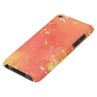 抽象的な手塗りの水彩画の背景 Case-Mate iPod TOUCH ケース