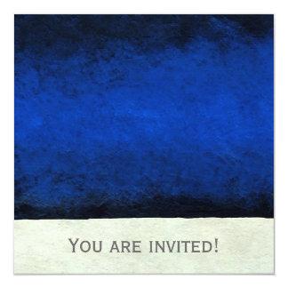 抽象的な時2の~の招待状の独身 カード