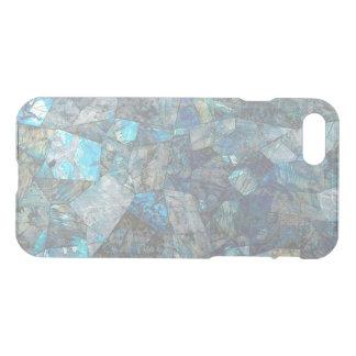 抽象的な曹灰長石のモザイクゆとりのiPhoneの場合 iPhone 7ケース