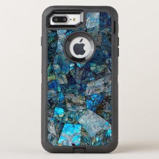 抽象的な曹灰長石 オッターボックスディフェンダーiPhone 8 PLUS/7 PLUSケース
