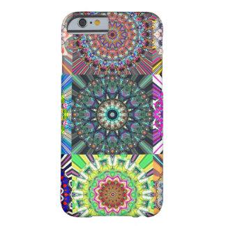 抽象的な曼荼羅のコラージュ BARELY THERE iPhone 6 ケース