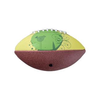 抽象的な木の小型フットボール アメリカンフットボール