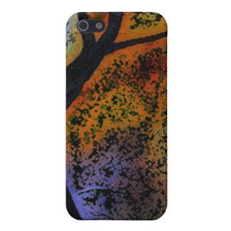 抽象的な木の芸術のデジタル芸術I iPhone 5 COVER