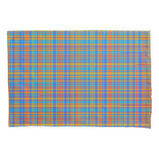 抽象的な格子縞パターン背景 枕カバー