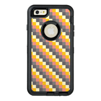 抽象的な格子色パターン オッターボックスディフェンダーiPhoneケース