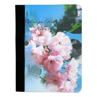 抽象的な桜 パッドフォリオ